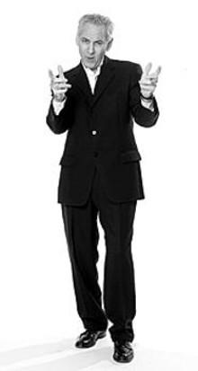 MICHAEL  JACOB - Alan Oxenhandler channels Neil Diamond at the Sheldon