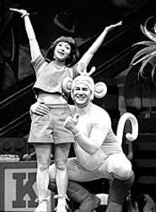 JOAN  MARCUS - Dora has the explorin' monkey on her back