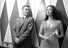Love and other shenanigans: George Clooney and Catherine Zeta-Jones in Intolerable Cruelty