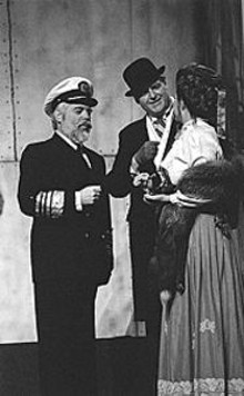 Brad Slavik (left) is the captain of Titanic