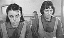 MIRAMAX  FILMS - Nora-Jane Noone as Bernadette and Eileen Walsh as Crispina in Peter Mullan's The Magdalene Sisters