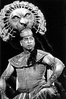 JOAN  MARCUS - Alton Fitzgerald White as Mufasa in The Lion King