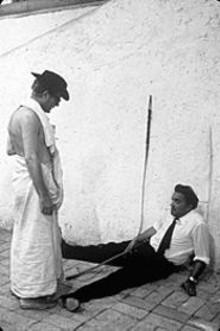 Marcello Mastroianni and Federico Fellini in Damian Pettigrew's documentary Fellini: I'm a Born Liar