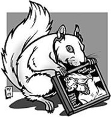 MARK  POUTENIS - The albino squirrels of Olney, Illinois, just want to party