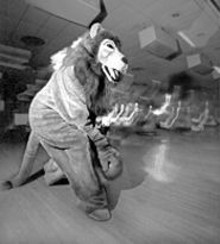 RYAN  HUDSON - This bowling lion can do a whole lot more than roar.