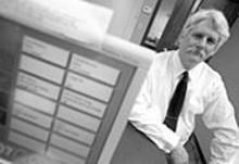 JENNIFER  SILVERBERG - KCLC-FM general manager Mike Wall