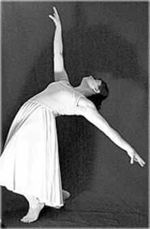 An Eclectic E dancer