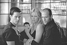 Mark Wahlberg, Charlize Theron and Jason Statham in The Italian Job