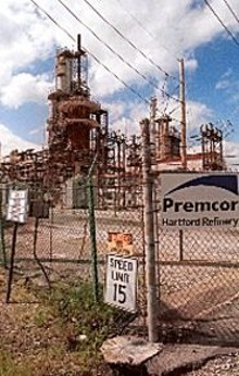 JENNIFER  SILVERBERG - Clark Oil and Refining  now Premcor  was the major contributor to the pool of gas under Hartford, according to a report prepared in the 1990s by the Illinois Environmental Protection Agency.