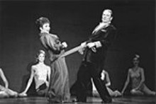 JOAN  MARCUS - Patti Mariano and Frank Root in 42nd Street