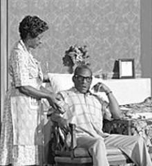 STEWART  GOLDSTEIN - Linda Kennedy and Dennis Lebby in Saint Lucy's Eyes