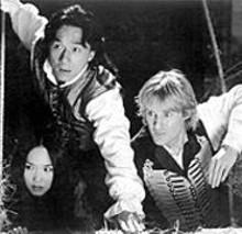 Fann Wong, Jackie Chan and Owen Wilson in Shanghai Knights