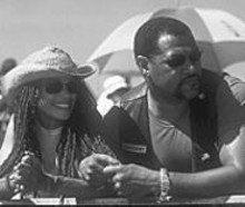 Lisa Bonet and Laurence Fishburne in this year's upcoming Biker Boyz