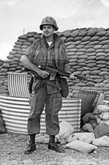 """Jug"" Burkett in Vietnam"