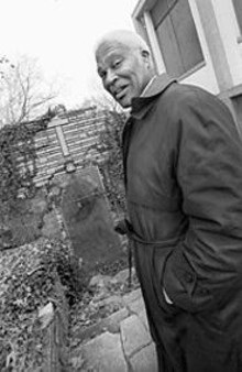 JENNIFER  SILVERBERG - Dr. John Wright at the former Manresa Colored - Laymen's Retreat in Kinloch