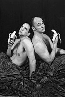 Jeremy Sher and Michael Jokerst in The Most - Fabulous Story Ever Told