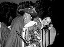 Jerry Russo and Kelly Schnider in The Taming of the Shrew