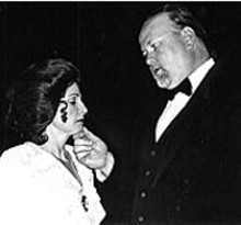 Liz Hopefl and Ray Shea in the ACT Inc. production of A Woman of No Importance