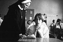 Jodie Foster and Kieran Culkin in The Dangerous Lives of Altar Boys