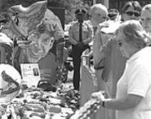 JENNIFER  SILVERBERG - Jack Buck's memorial at Busch Stadium