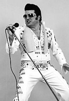 MIKE  DRANSKY - A hunka burnin' Steve: Elvis imitator Steve Davis