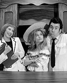 DONNA  NORTHCOTT - Amy Elz as Julie, Julie Layton as Charo and Jim Ousley as Gopher