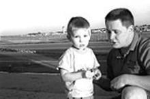 WM.  STAGE - Alex Gottschalk and his dad