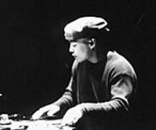DJ Qbert on the wheels of steel in Scratch