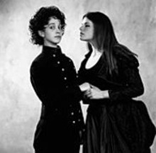Emily Madison and Robin Kacyn in Twelfth Night