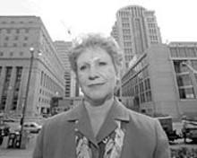 JENNIFER  SILVERBERG - Dora Schriro, the city's new corrections commissioner