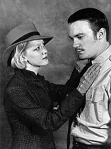 CLAUDIA  BURRIS - Jessica Podewell and Andrew Sloey in Ten Little Indians