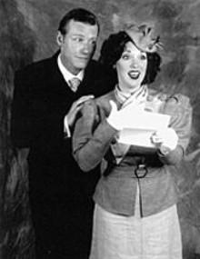 BILL  STOVER - David Schmittou and Sherri L. Edelen star in She Loves Me.