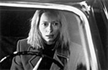 Margaret Hall (Tilda Swinton) tries to protect her son from a crime he didn't commit in The Deep End.