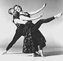 "With works such as ""Cascade,"" here shown with Patrick Corbin and Maureen Mansfield, Paul Taylor crossed the boundaries between modern dance and neoclassical ballet."