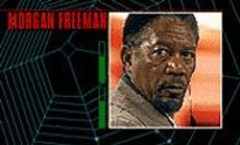 Morgan Freeman gets caught in Along Came a Spider.