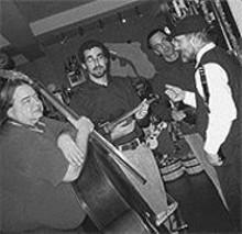 LIZ  FISHER - Iggie, Jeremy, Jeff and Paul of Yidn.
