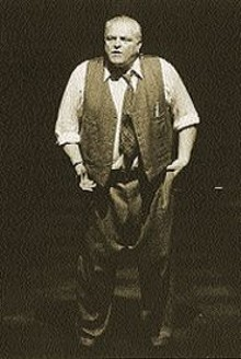 Brian Dennehy as Arthur Miller's Salesman, Willy Loman
