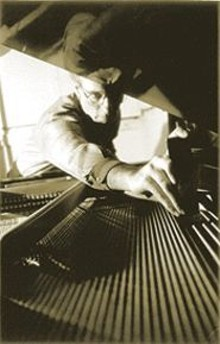 """Pull the strings! Pull the strings!"" ""Hyperpianist"" Denman Maroney"