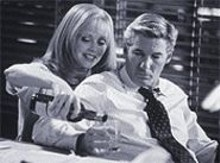 Shelley Long and Richard Gere in the deceptively charming Dr. T and the Women