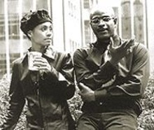 Jada Pinkett Smith and Damon Wayans in Spike Lee's provocative Bamboozled
