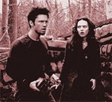 ABBOT  GENSER - Jeffrey Donovan and Erica Leerhson in Blair Witch 2: Book of Shadows
