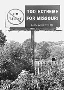 JENNIFER  SILVERBERG - Studies show that 74 percent of billboards in a rider's field of vision are seen and 48 percent of those boards are actually read. Some Missourians prefer to do without the clutter.