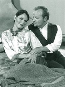 Lillian Sengpiehl and Steven Paul Spears in La Bohème