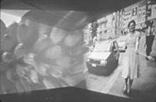 """Pipilotti Rist, """"Ever Is Over All,"""" video projection"""