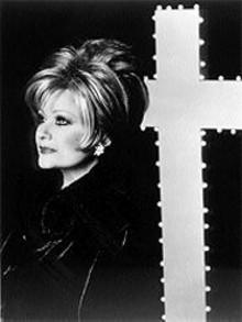 GREG  GORMAN - Her cross to bear: Tammy Faye Bakker-Messner, forgiven and, for the most part, forgotten