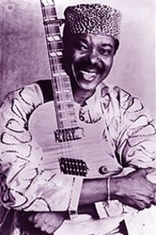 DANIEL  RAY - King Sunny Ade: He transforms concerts into glorious and carefree dance parties with his African juju music.