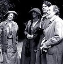 Maggie Smith, Jane Birkin, Lambert Wilson and Michael Gambon in The Last September