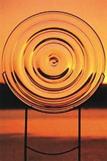 """Paul DeSomma, """"Untitled,"""" blown glass and steel, 36 inches in diameter, 1999"""