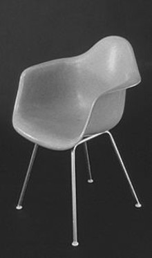 Charles and Ray Eames' signature plastic chairs are instantly recognizable, familiar and somehow comforting.