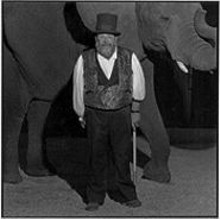 SCOTT  RAFFE - David Balding with Flora: Balding adopted the elephant after her mother was killed, possibly by poachers.